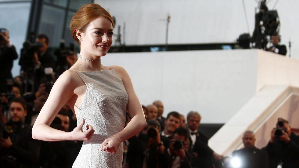 Emma Stone, en la alfombra roja