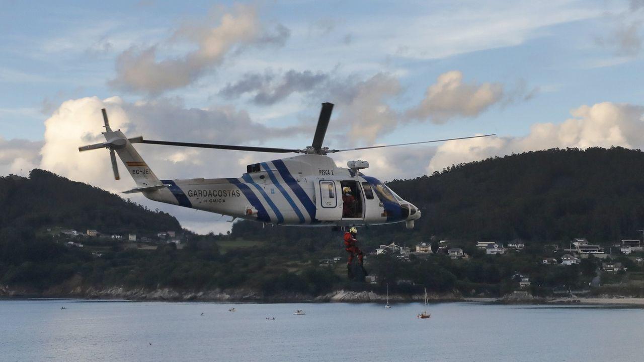 Desde Celeiro opera el Pesca 2 (en foto de archivo), de Gardacostas de Galicia, servicio de Mar que será homenajeado en el simposio pesquero de Celeiro