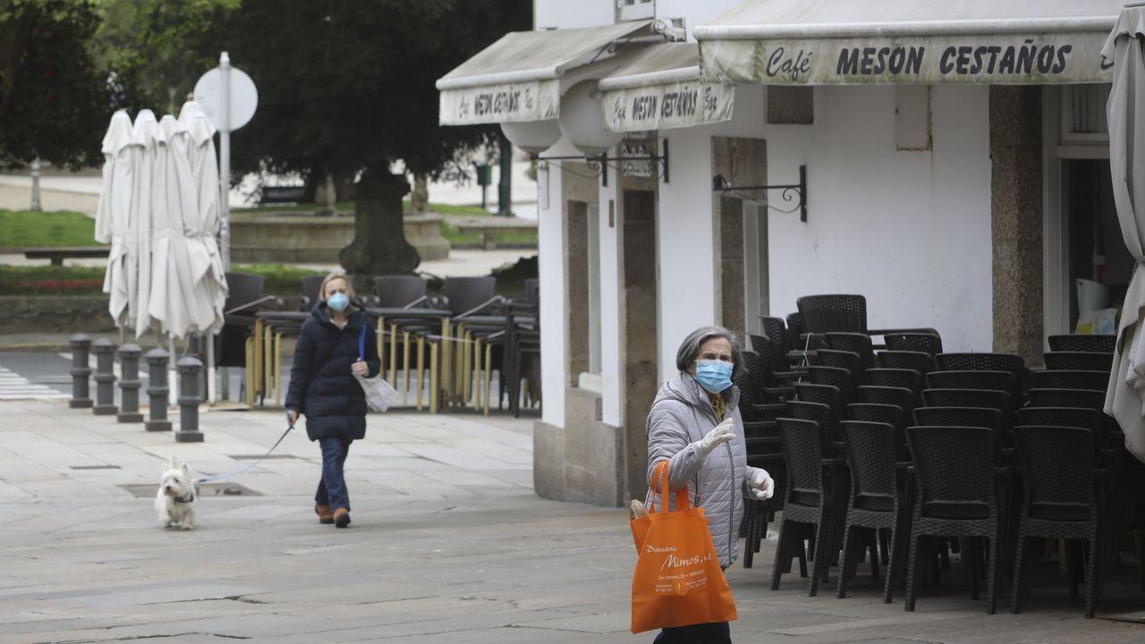 El impacto de más de seis semanas de confinamiento en familias y empresas de Santiago