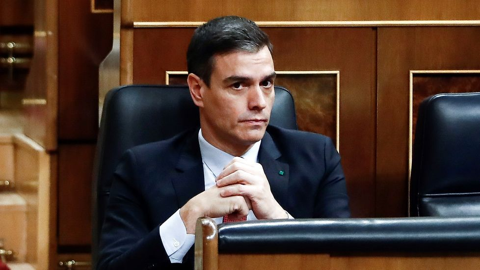 Pablo Iglesias, en su despacho del ministerio
