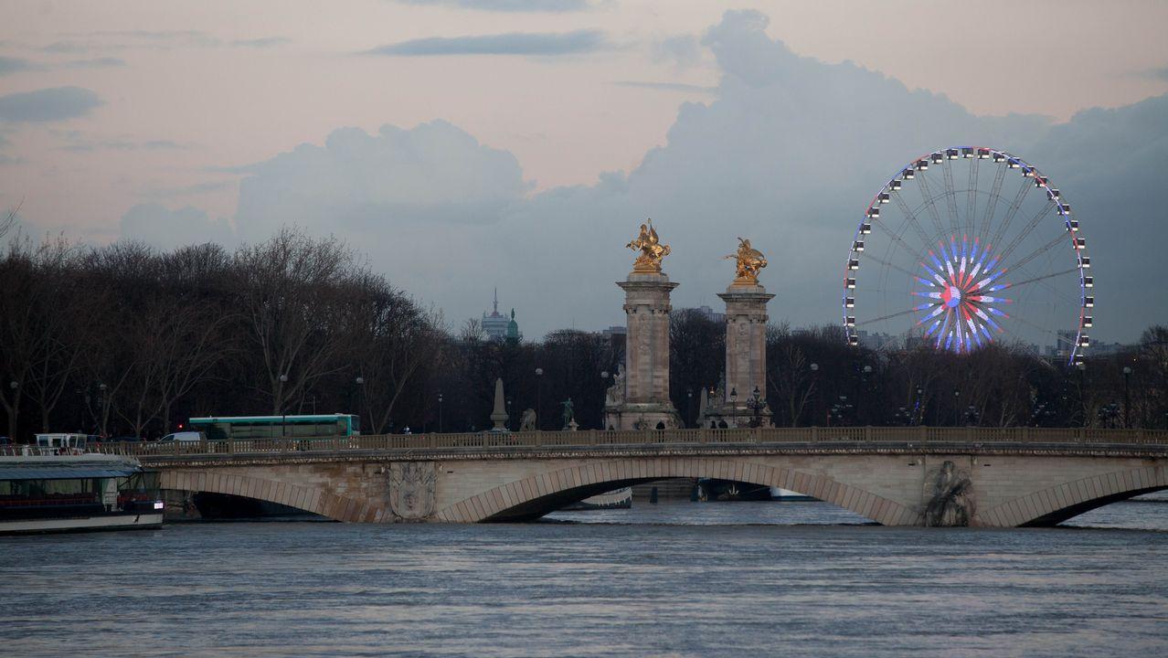 París en alerta por la crecida del Sena.Piso de París donde vivia la mujer de 85 años