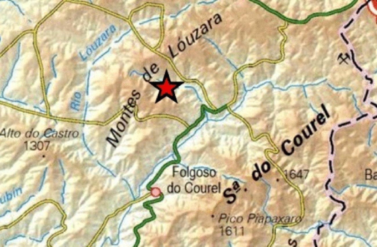 Cientos de personas pasan la noche al raso tras nuevos terremotos en Granada.Localización del epicentro del seísmo en una captura del visualizador de terremotos próximos del Instituto Geográfico Nacional