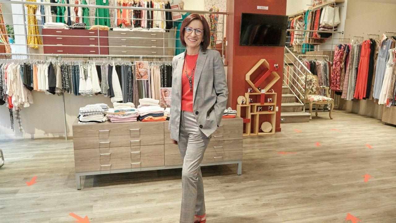 La estilista Carmen Díaz