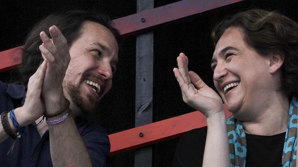 Primer gran acto de campaña de Unidos Podemos