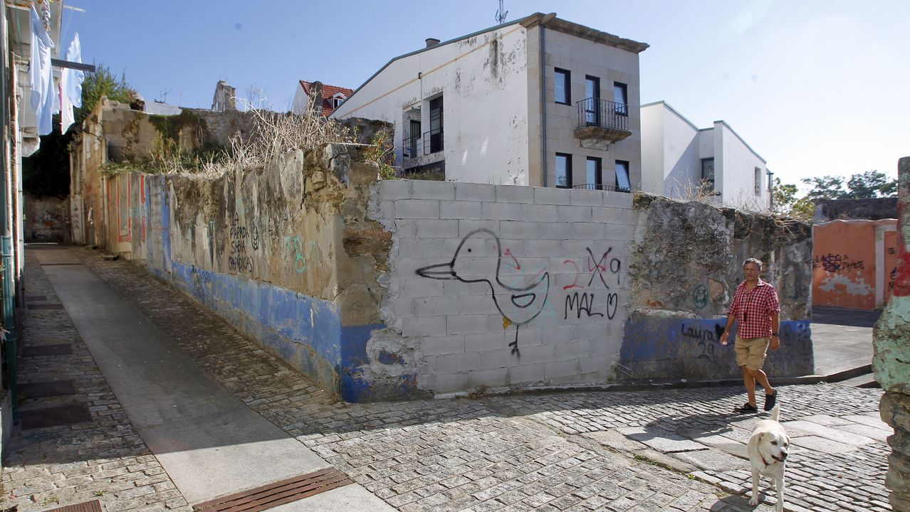 La propiedad de Argüelles, de la que apenas queda ya nada, se transformará en un edificio con dos viviendas y un bajo comercial