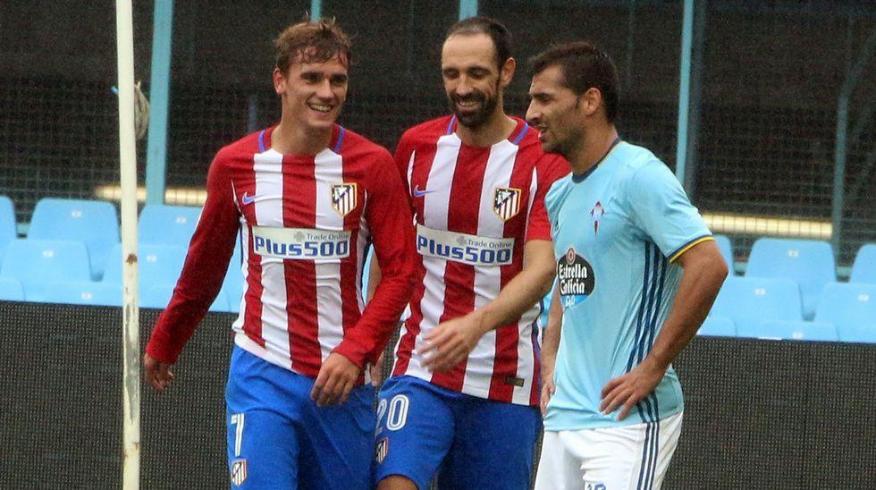 Celta - Atlético de Madrid, en imágenes.Borja Domingo, durante el partido contra el Choco