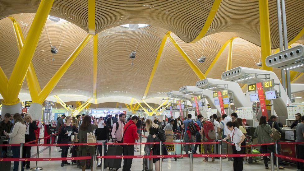 Tres de los arrestos se realizaron en la terminal T4 de Barajas