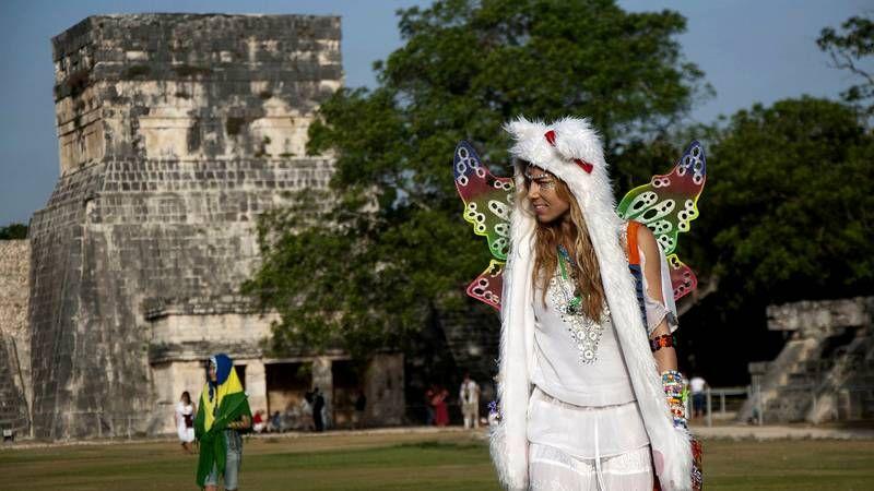 Recibiendo la nueva era en Chichén Itzá