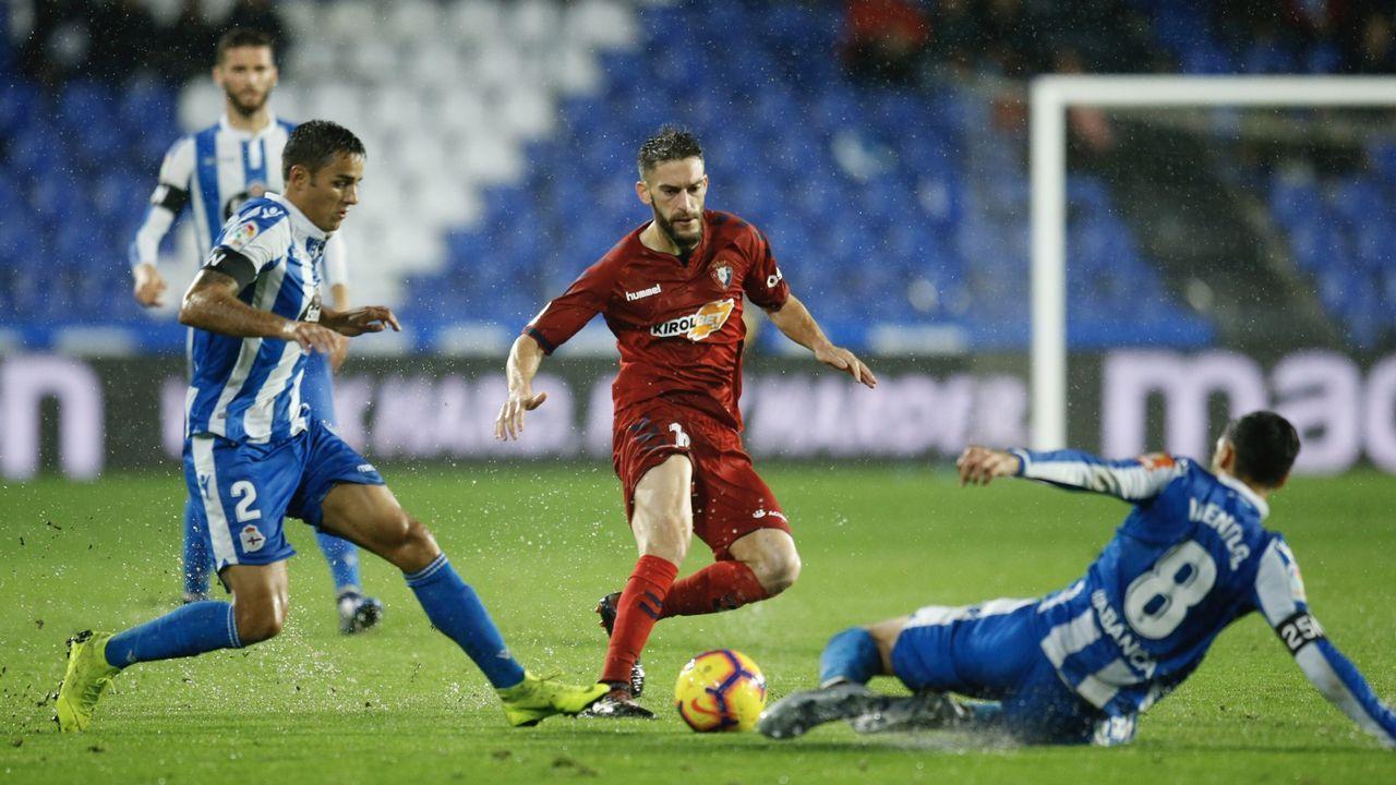 Las mejores imágenes del Deportivo - Almería.Juan Antonio Anquela en sala de prensa