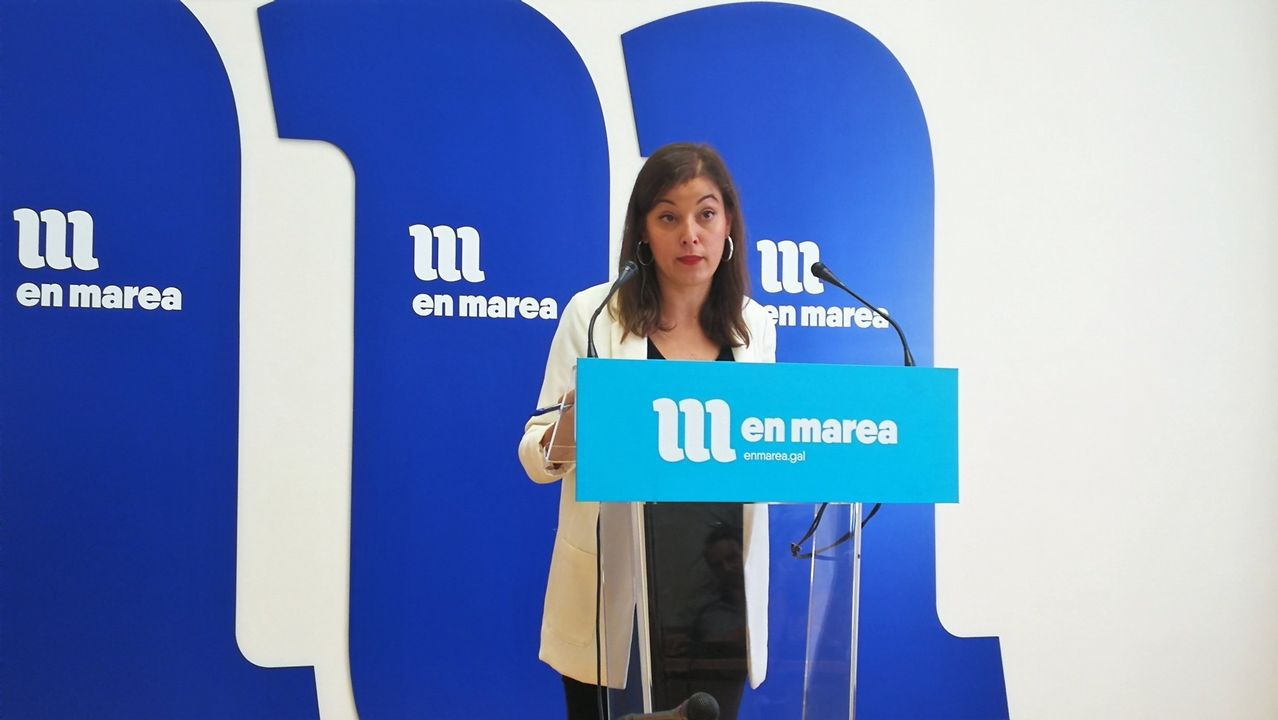 La diputada de En Marea y coordinadora de Esquerda Unida, Eva Solla