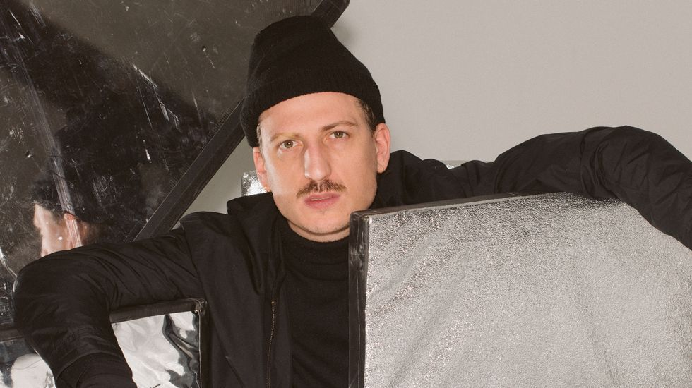 Jorge Vázquez hace soñar en laMadrid Fashion Week.La alcaldesa Ada Colau