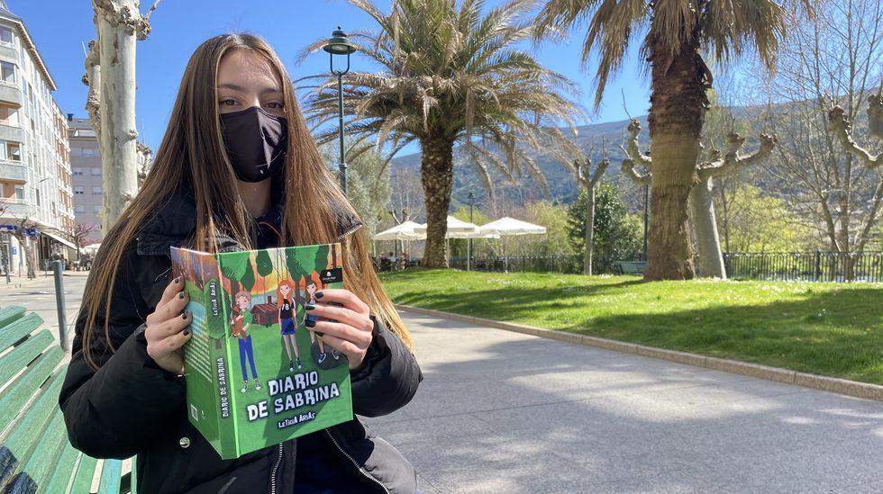 Leticia Arias acaba de publicar su primera novela
