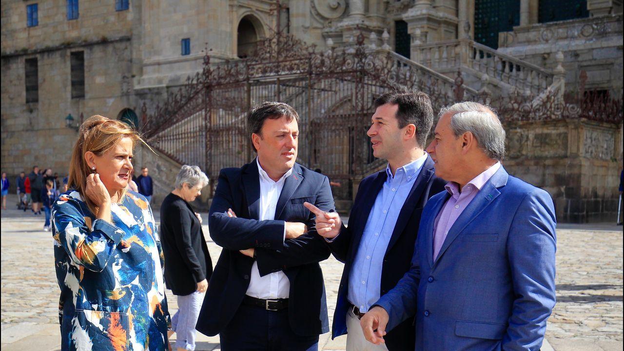La ministra de Hacienda, María Jesús Montero, y el presidente de la Xunta, Alberto Núñez Feijoo,  hace un año en Madrid