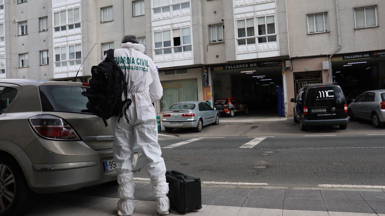 Un hombre se entrega tras matar a su hermano en un piso de Sigüeiro