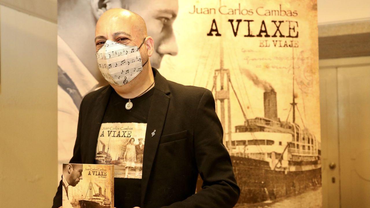 Juan Carlos Cambas presenta «A Viaxe»