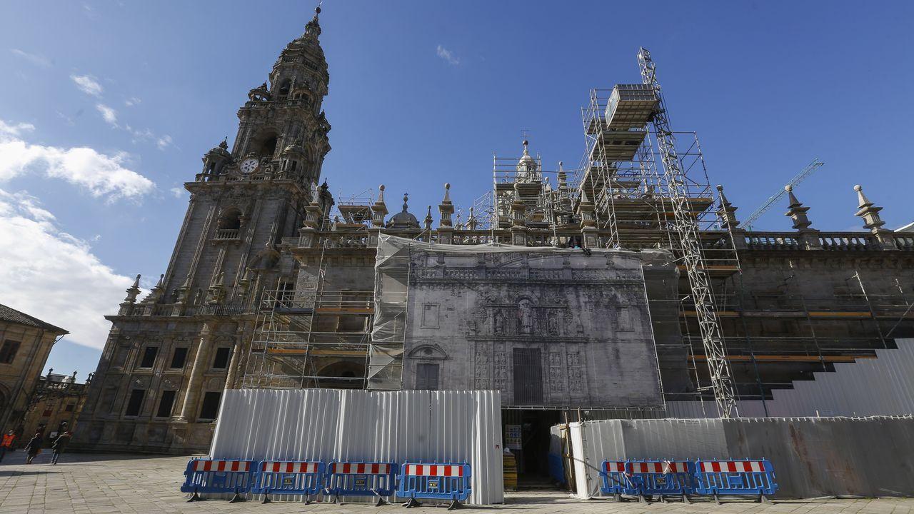 La Catedral de Santiago se pone a punto