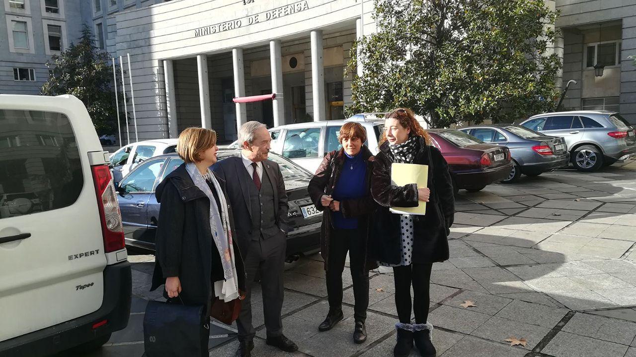Ana Taboada, Wenceslao López, Ana Rivas y Cristina Pontón