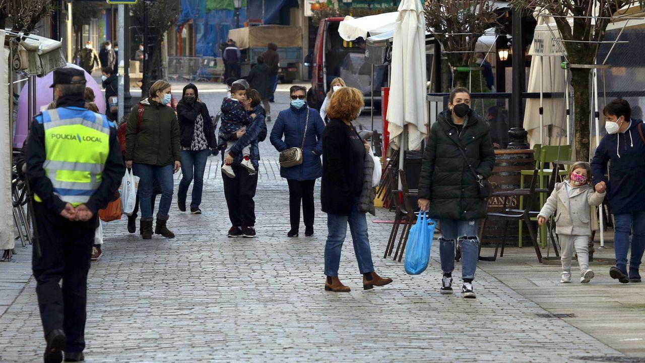 El municipio boirense lleva desde el 5 de diciembre aplicando las maximas restricciones