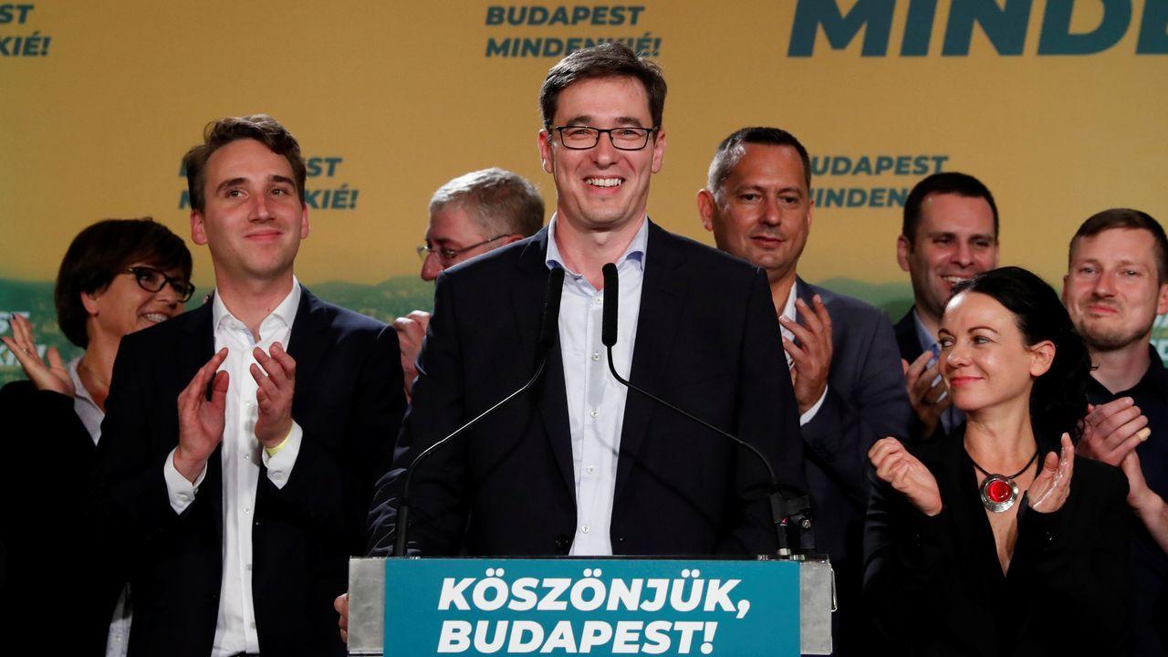 exportar.El opositor Gergely Karácsony será el nuevo alcalde de Budapest tras derrotaro al actual edil, del partido de Orbán