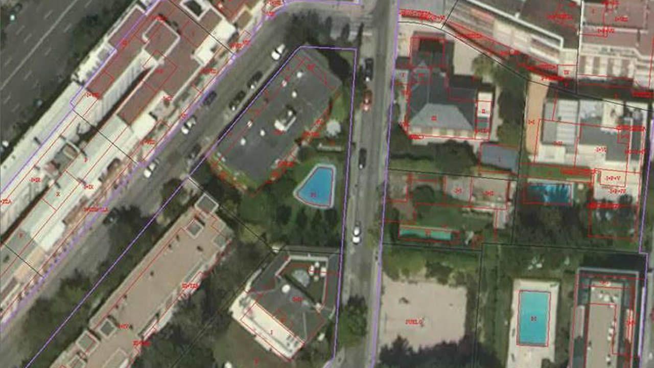 Los 10 coches más vendidos en España en 2018.Vista aérea del barrio de A Parda