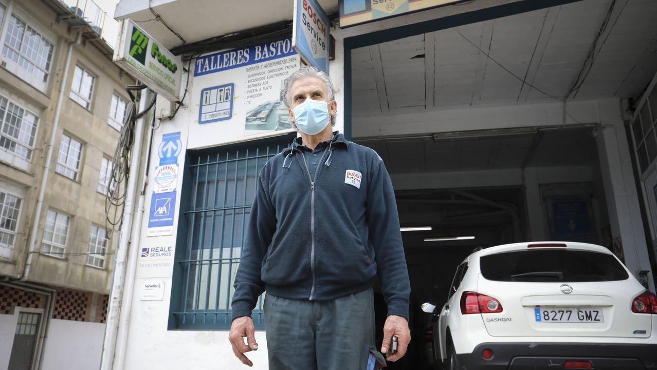 En Talleres Bastón, Pepe Bastón advirtió esta semana un repunte en la demanda. ¿La razón? Problemas en el encendido, tras dos meses con los vehículos parados