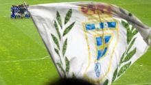 Afición Real Oviedo Nastic Carlos Tartiere bandera