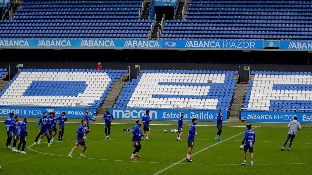 Primeras palabras de Toño Armenteros como presidente del Deportivo