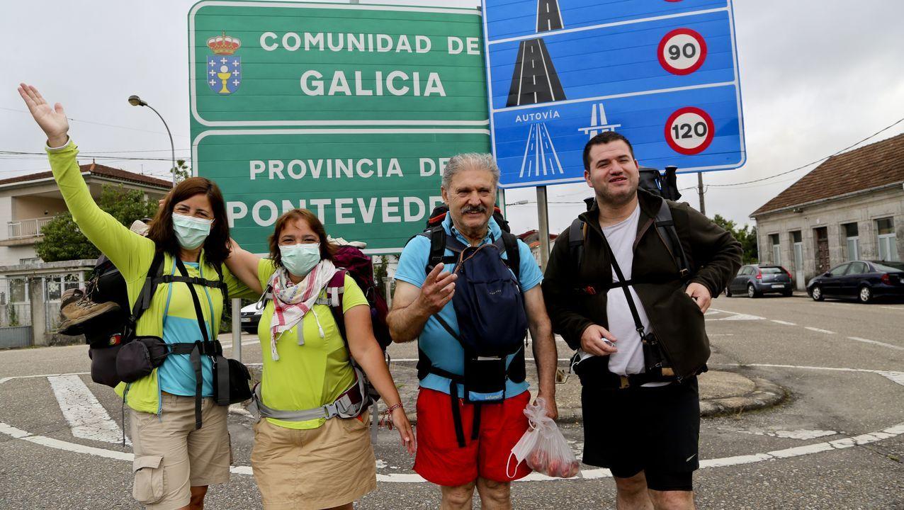 Imagen de archivo de los juzgados de Vigo