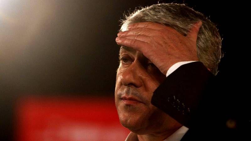 El alcalde de Lisboa, en un acto político reciente.