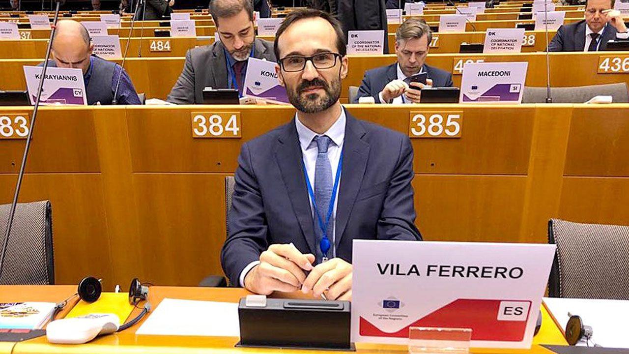 Javier Vila, director general de Asuntos Europeos