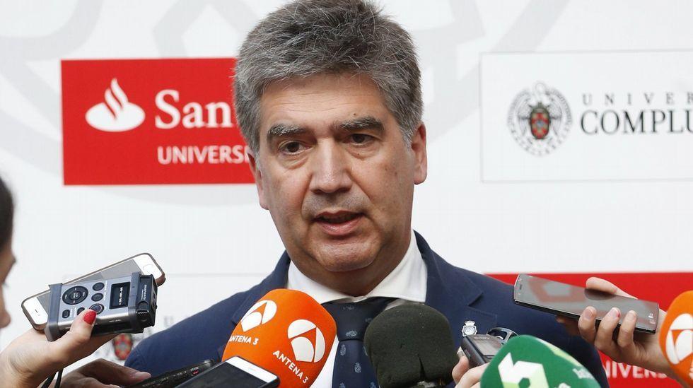 informe PISA: España, a la altura de la OCDE.El director general de la Policía, Ignacio Cosidó