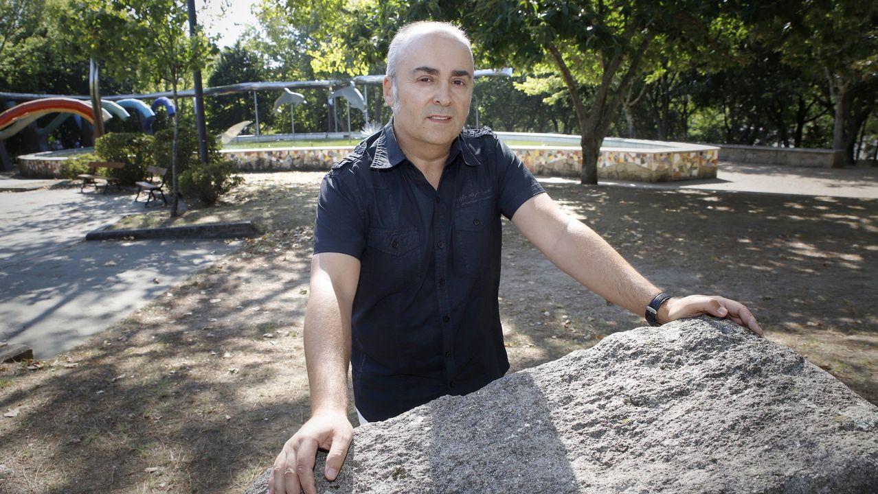 José Luis Baños de Cos, premio Abrente da Mostra de Teatro de Ribadavia