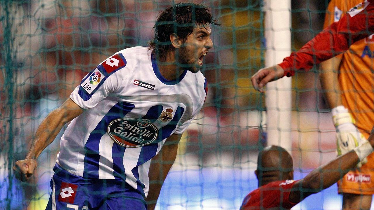 El Sporting de Gijón fue otra de las víctimas del delantero