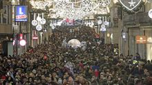 Vigo, capital de las luces de Navidad