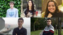Estos son los alumnos más brillantes de la EBAU 2018 en Asturias