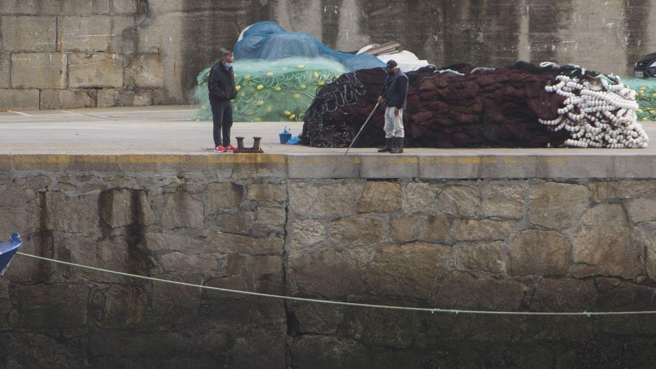 Declaración de un perito judicial en el caso del accidente del Marisquiño.Vista puerto zona San Diego Coruña