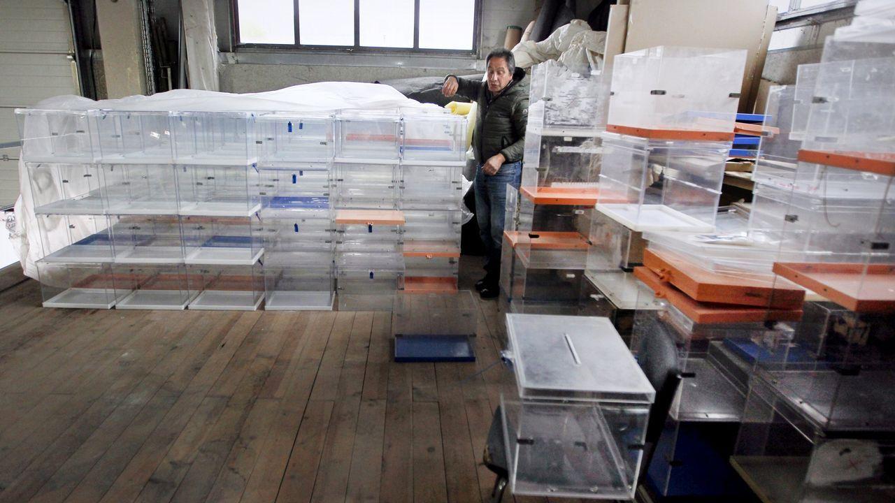 Las urnas ya están preparadas para las elecciones del 26M