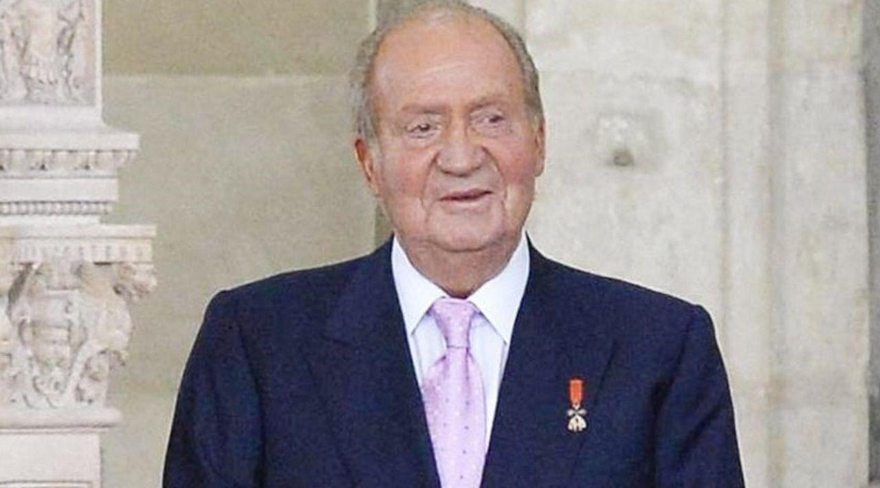 Don Juan Carlos, el 18 de junio del 2014, cuando firmó la abdicación