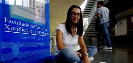 Lorena ya es abogada y ahora quiere ampliar sus estudios para tener más opciones laborales.