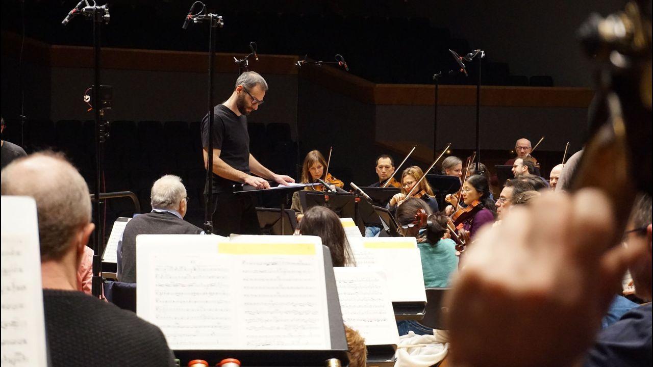La Sinfónica en un ensayo con Dima Slobodeniouk