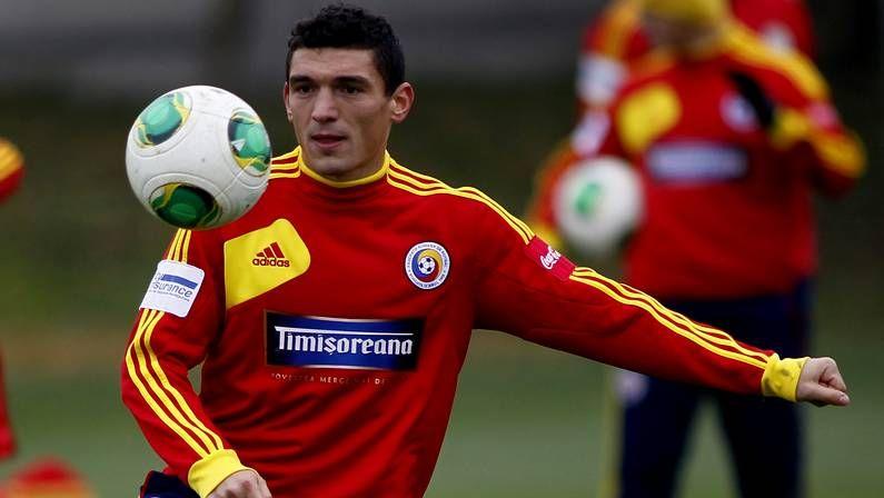 Mundial 2014: El sorteo en imágenes.Claudiu Keseru, jugador de Rumanía