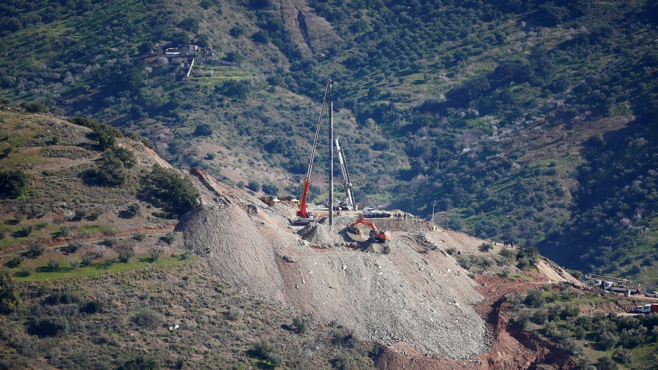 Los problemas en el encamisado del túnel paralelo provoca nuevos retrasos en el rescate de Julen