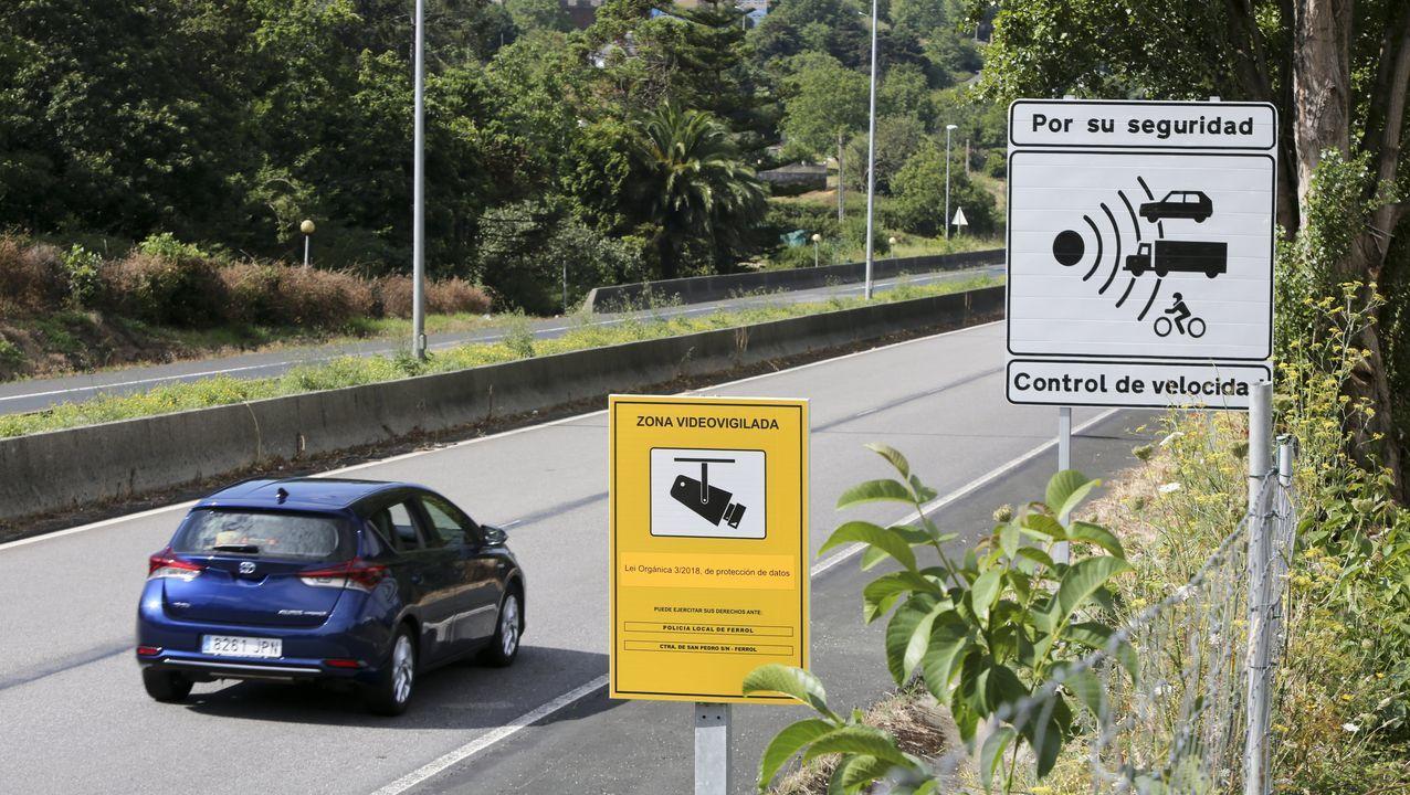 Estado en que quedó una de las viviendas asaltadas por los ladrones en el centro de Ferrol