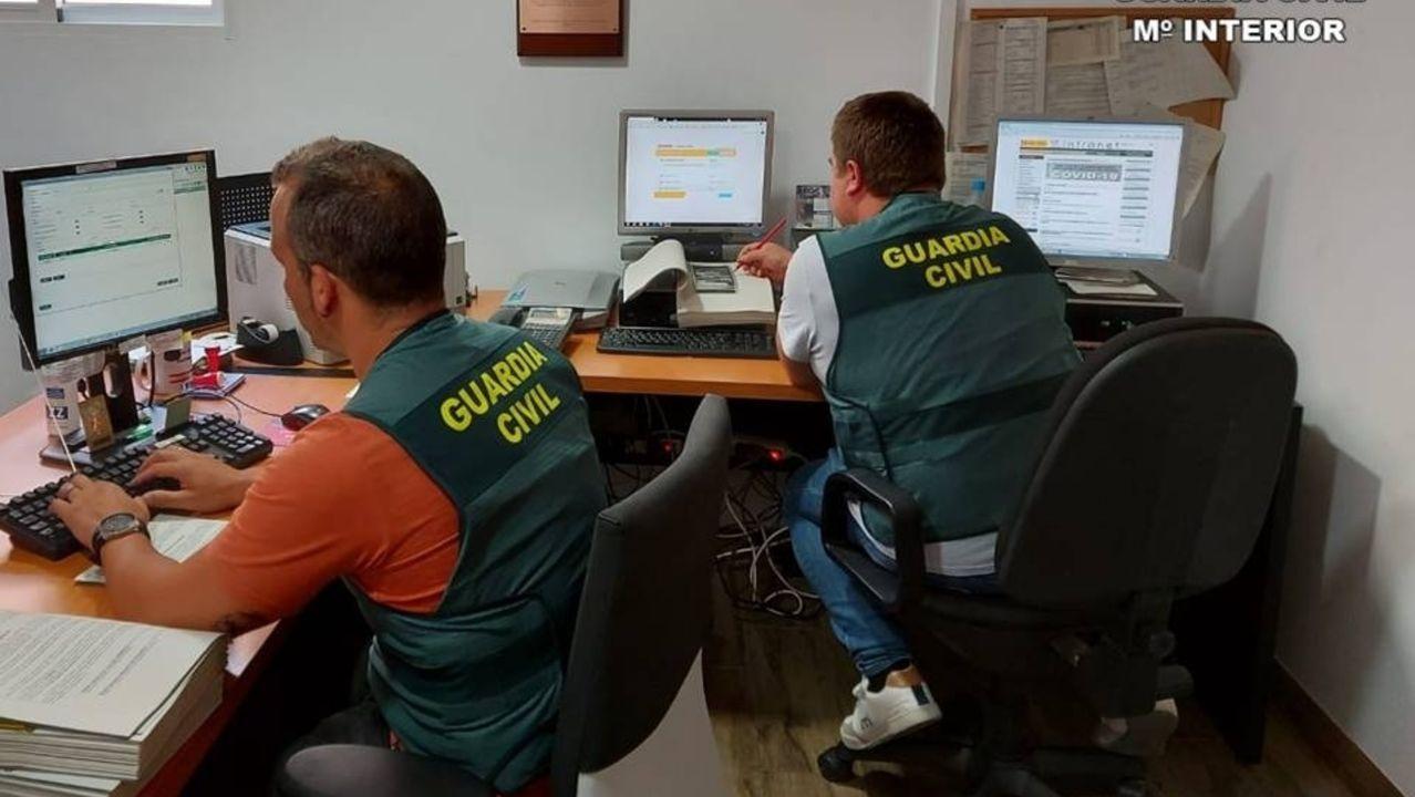 Las redes se han convertido en un campo principal de investigación para la Guardia Civil