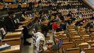 Se retomanlas clases presenciales en la universidad gallega