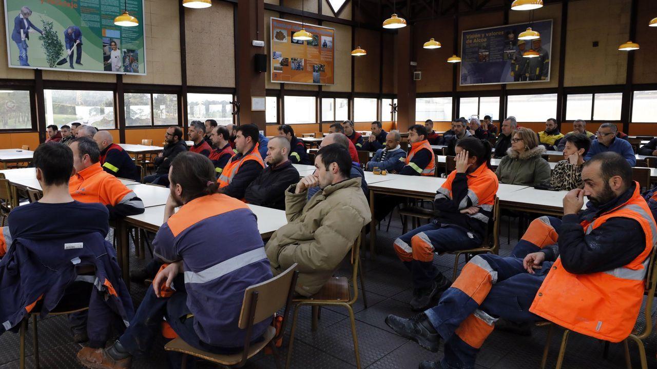 Alcoa, en la foto su fábrica de aluminio primario de San Cibrao, es una de las grandes prestatarias del servicio de interrumpibilidad