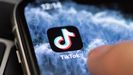 Detalle de la aplicación de TikTok para móviles