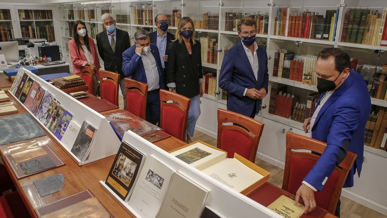 Núñez Feijoo dio a conocer la noticia en su visita al Museo do Gravado de Artes