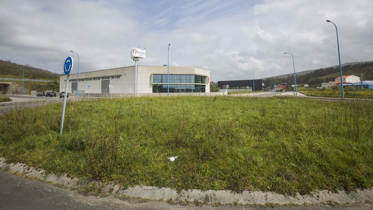 Área de entrada a la zona portuaria de Brens