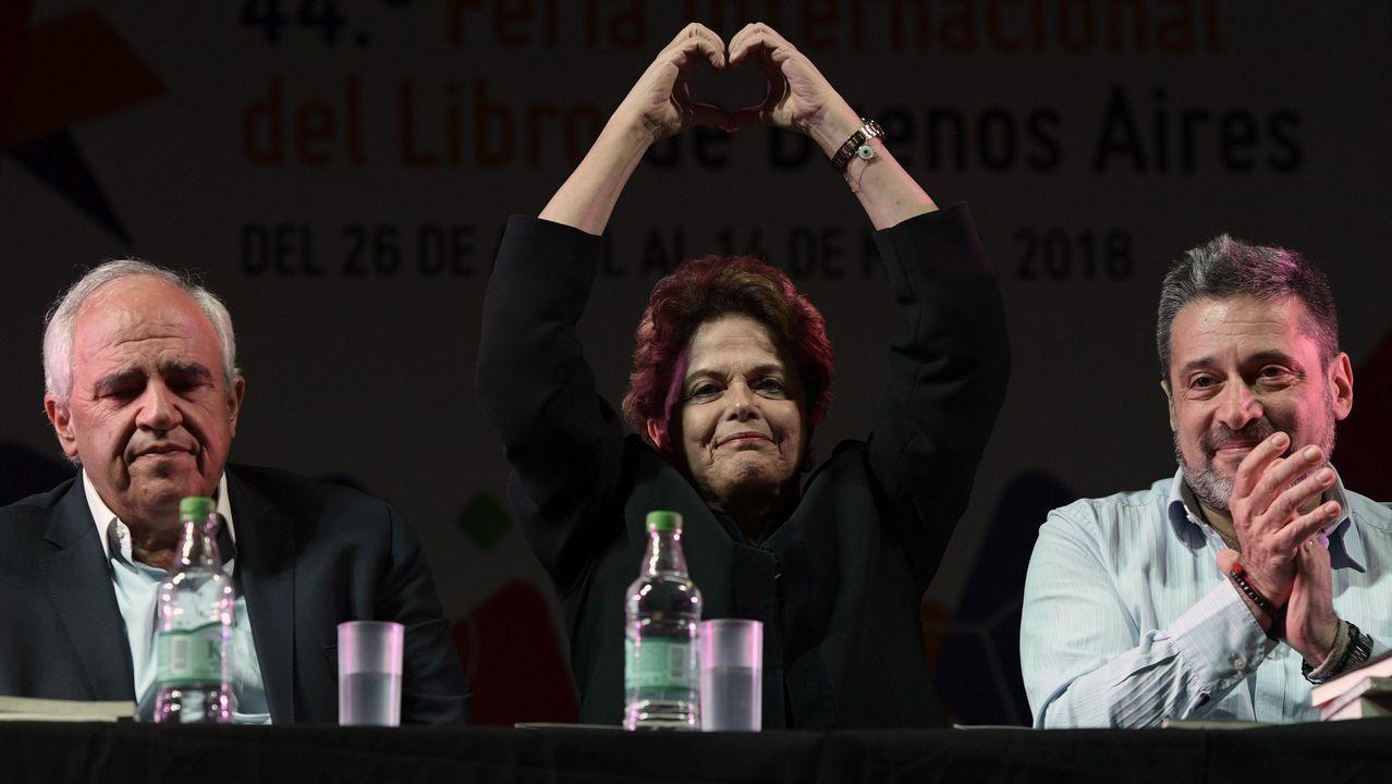 La presidenta brasileña, Dilma Rousseff